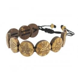 Bracelet en os 8 Symboles...