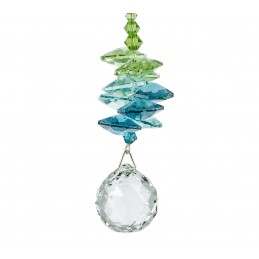 Cascade de cristal Rayon Vert