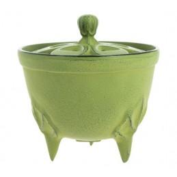 Brûle-parfums Iwachu Bol vert