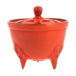 Brûle-parfums Iwachu Bol rouge