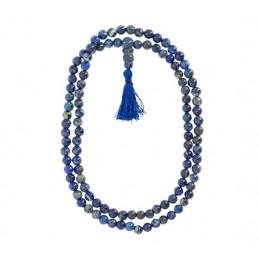 Chapelet Mala en lapis-lazuli