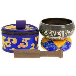 Bol tibétain avec symboles...