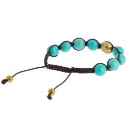 Bracelet Shambala Om...