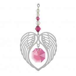 Ailes d'ange en quartz rose...