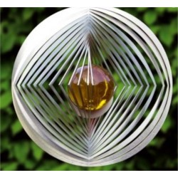SPINNER BOULE CERCLE/CARRE