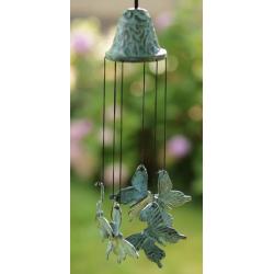 Carillon en bronze - Papillon