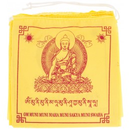 Drapeaux de prière Bouddha...