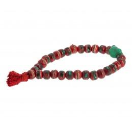 Bracelet-Mala Os Rouge avec...